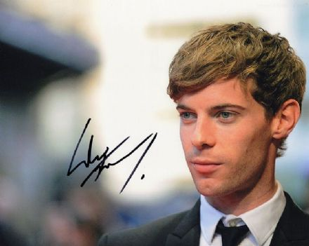 Luke Treadaway, Unbroken, Fortitude, signed 10x8 inch photo.